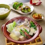 真鯛と九条葱の京風ちり鍋