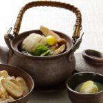 松茸と鱧の土瓶蒸し風
