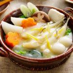 河豚と九条葱の鍋 西京味噌仕立て
