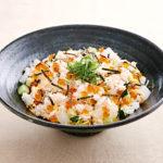 蟹といくらのちらし寿司